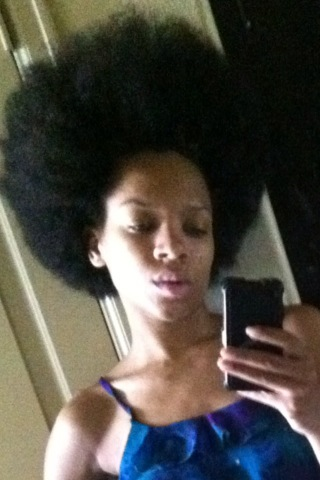 You Look Like A Shocked Slave Afro State Of Mind