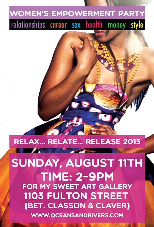 Relax Relate Release Flyer