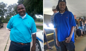 (r) Alton Sterling; (l) Philando Castile