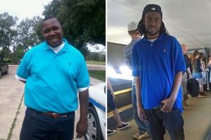 (r) Alton Sterling; (l) Philando Castile