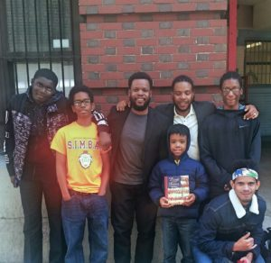 High School Students with Brian Favors & The Birth of a Nation Co-Author, Jean McGianni Celestin