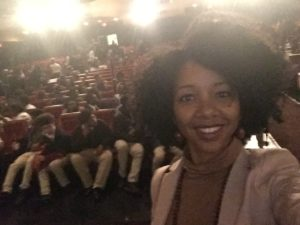 DC High School Students fill in seats to see The Birth of a Nation