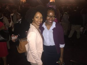 AfroStateOfMind with one of the many brilliant educators working in DC at Friendship Charter Schools!
